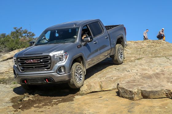 We Hit The Trail In A 2019 Gmc Sierra 1500 At4 Pickuptrucks Com News